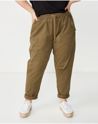 Cotton On - Curve Rolled Hem Chinos