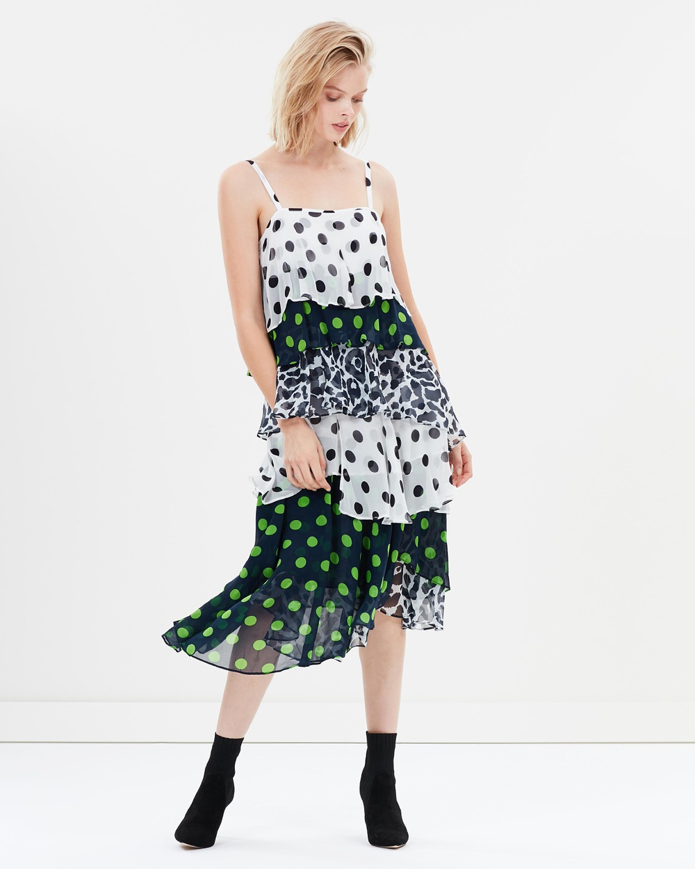 Gary Bigeni Carson Dress Printed Dresses Multi Print Carson Dress