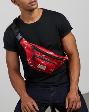 Guess Originals Bum Bag - Bum Bags (Red)