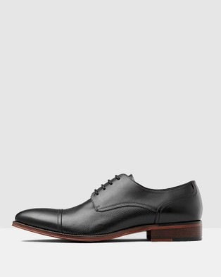 Aquila Rockford Derby Lace Up - Dress Shoes (Black)