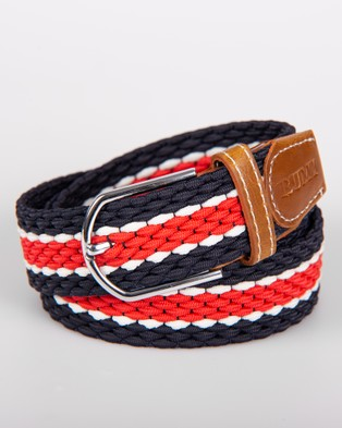 RUMI The Red Stripes Belt - Belts (Red)