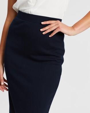 SPURR Pencil Skirt - Pencil skirts (Navy)