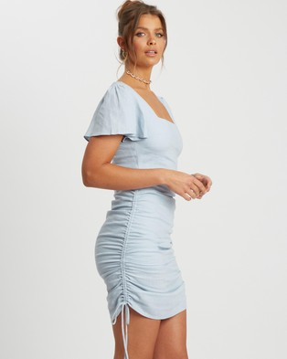 Savel Odette Mini Dress - Dresses (Pale Blue)