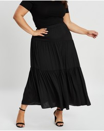 Atmos&Here Curvy - Spliced Skirt