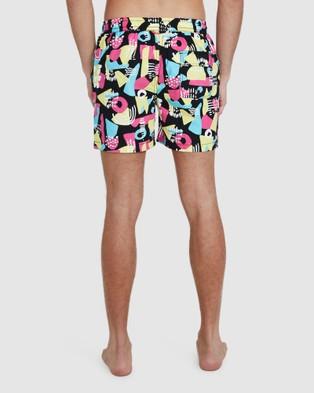 Arvust Wonder Volley Boardshorts - Swimwear (BLACK)