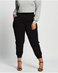 Love Your Wardrobe - Bree Relaxed Rib Cuff Pants