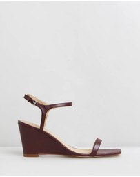 Atmos&Here - Ada Leather Wedges