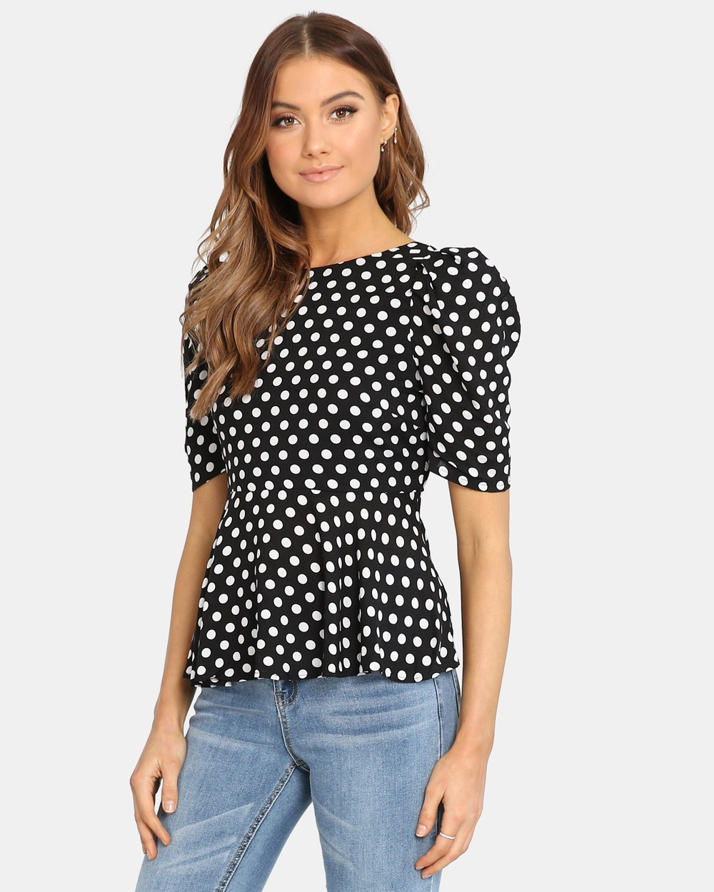 Madison Square Meghan Top Tops Black Meghan Top