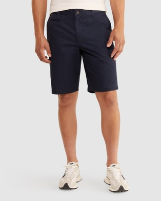 Sportscraft Classic Long Shorts - Chino Shorts (Airforce Blue)