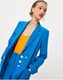 TOPSHOP - Contrast Stitch Suit Jacket