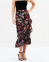 Otto Mode - Wrap And Frill Me Skirt