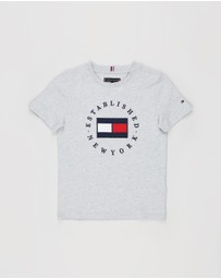 Tommy Hilfiger - Flag Tee - Teens