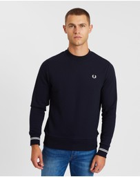 Fred Perry - Core Crew Neck Sweatshirt