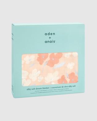 Aden & Anais Silky Soft Dream Blanket Blankets Koi Pond