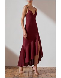 Shona Joy - Bias Asymmetrical Slip Dress