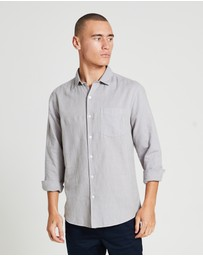 Arvust - Grover Long Sleeve Linen Shirt