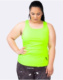 Curvy Chic Sports - Action Back Tank