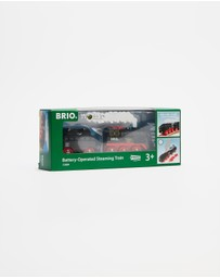 BRIO - Steaming Train - 3 Pieces