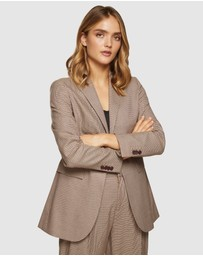 Oxford - Lola Eco Checked Blazer