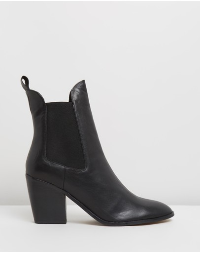 Atmos&Here - Fae Leather Ankle Boots