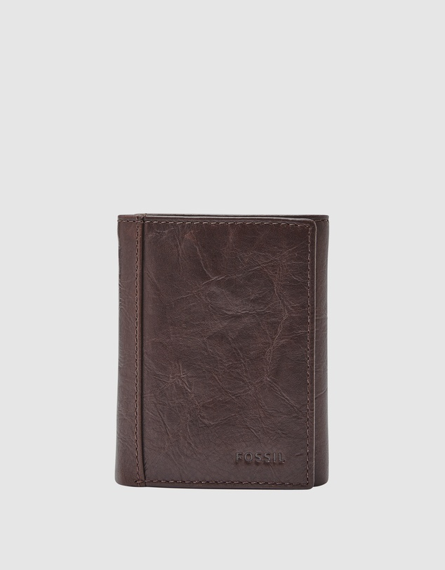 Fossil - Neel Brown Trifold Wallet