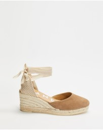 MANEBI ESPADRILLES - Hampstons Low Wedge Valencia