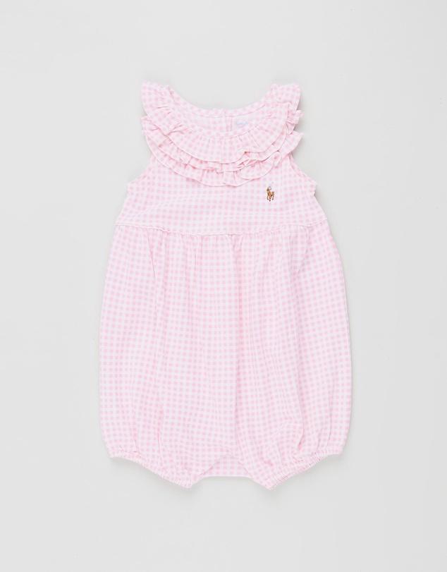 2c979e74 Gingham One-Piece Shortall - Babies