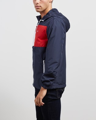 Tommy Jeans Zip Thru Windbreaker - Coats & Jackets (Twilight Navy)