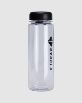 SASHED THE LABEL Sashed Bottle Water - Gym & Yoga (Transparent)