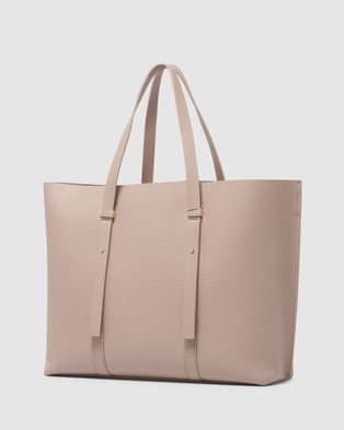 Forever New Kate Double Keeper Tote Bag - Bags (Mink)