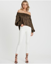 BWLDR - Sloane Balloon Sleeve Top