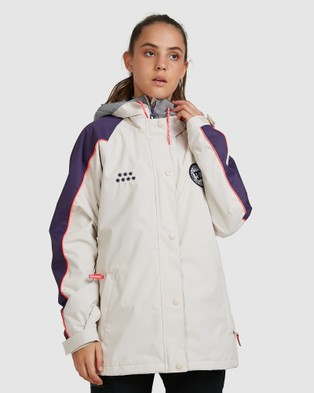 DC Shoes Womens DCSC Snow Jacket - Coats & Jackets (GRAY MORN)