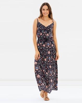 Volcom – Lotus Garden Maxi Dress Slate
