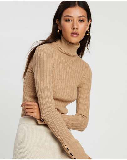 Marle Remi Turtle Neck Camel