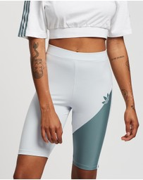 adidas Originals - Adicolour Sliced Trefoil Short Tights