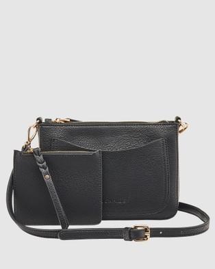 Louenhide Venice Crossbody Bag - Clutches (Black)