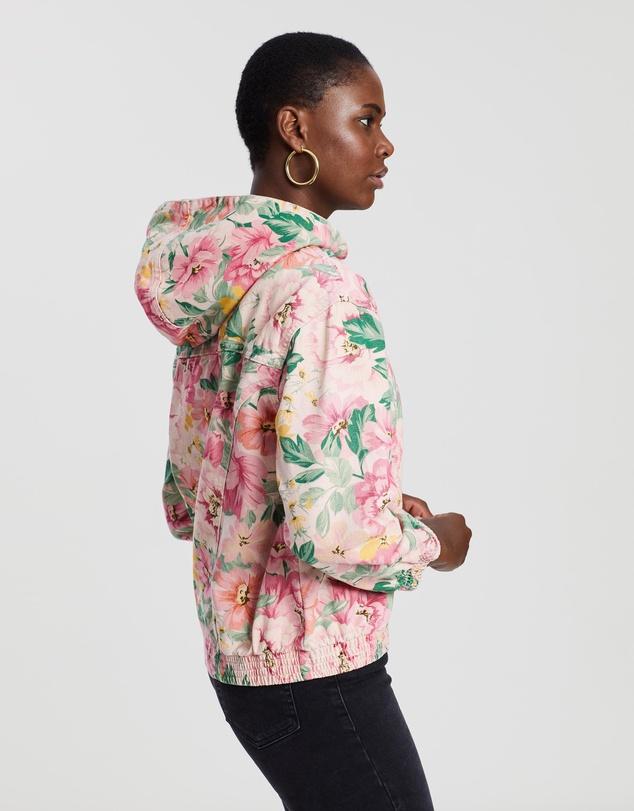 67d34ea1e Floral Bomber Jacket