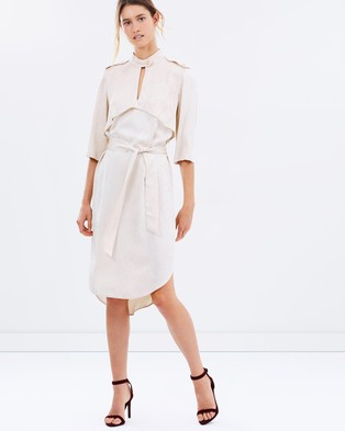 Ginger & Smart – Awakening Shirt Dress Alabaster