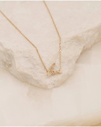 By Charlotte - 14K Gold All You Need Necklace