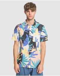 Quiksilver - Mens Tropical Short Sleeve Shirt