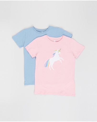 Cotton On Kids - Stevie SS Embellished Tee - 2-Pack - Kids-Teens