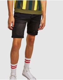 Topman - Ripped Shorts