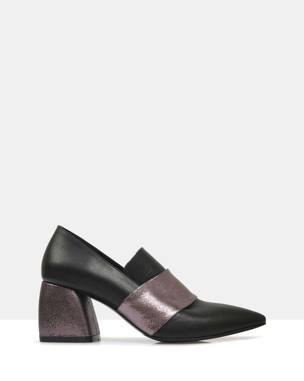 Sempre Di Maida Heels All Pumps 901- BLACK Maida Heels