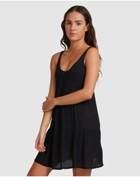 Roxy - Womens Sand Dune Strappy Beach Dress