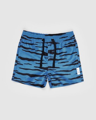 Huxbaby - Wildcat Swim Shorts Kids Swimwear (Whirlpool)