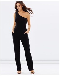One Shoulder Pantsuit