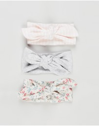 Cotton On Baby - Tie Headband - 3 Pack - Babies