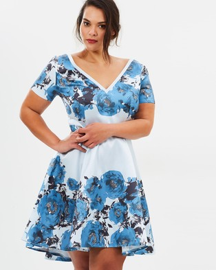 Chi Chi Curve – Ciana Dress – Dresses (Multi)