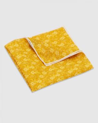Buckle Jocelyn Proust   Pocket Square - Pocket Squares (Gold)