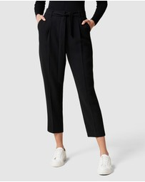 Forever New - Carmen Tie Waist Tapered Pants